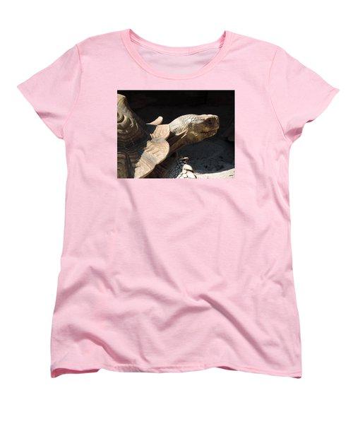 Slow But Sure Women's T-Shirt (Standard Cut) by Teresa Schomig
