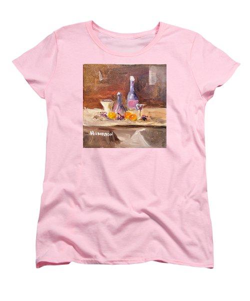 Small Still Life Women's T-Shirt (Standard Cut) by Larry Hamilton