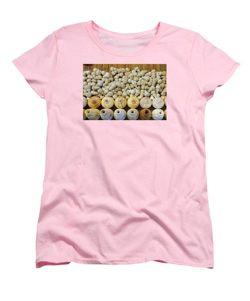 Small Wooden Flasks Women's T-Shirt (Standard Cut) by Yali Shi