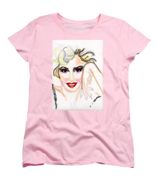 Smile For Me Marilyn Women's T-Shirt (Standard Cut)