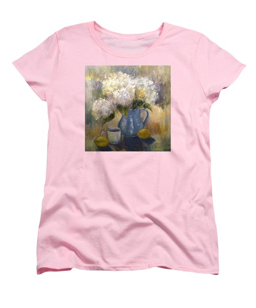 So Happy And Excited To Say That This Women's T-Shirt (Standard Cut) by Jennifer Beaudet