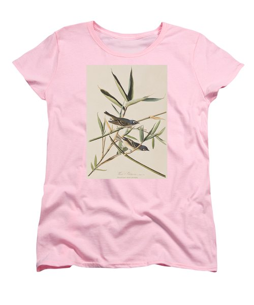 Solitary Flycatcher Or Vireo Women's T-Shirt (Standard Cut) by John James Audubon