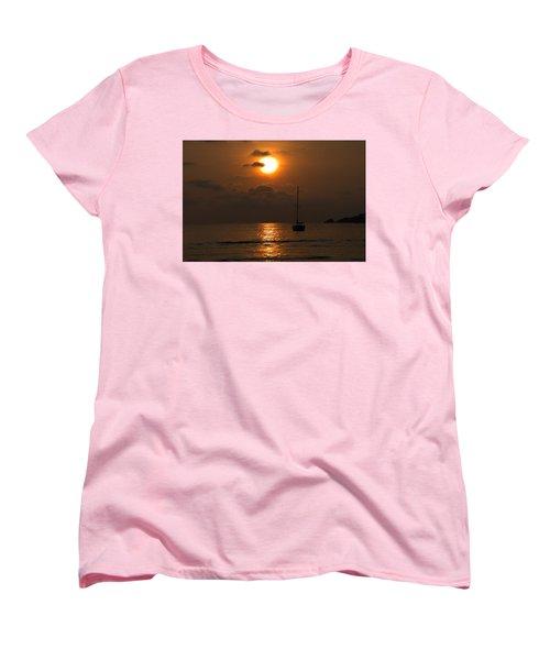 Solitude Women's T-Shirt (Standard Cut) by Jim Walls PhotoArtist
