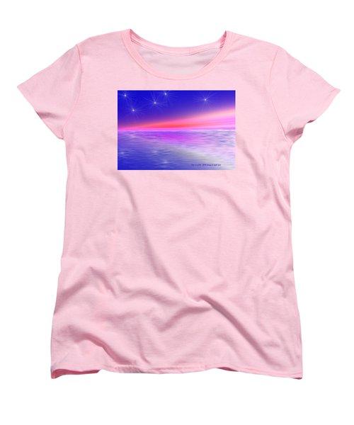 Song Of Night Sea Women's T-Shirt (Standard Cut) by Dr Loifer Vladimir