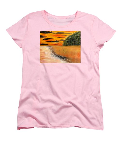 South Paciffic Women's T-Shirt (Standard Cut) by Lisa Aerts