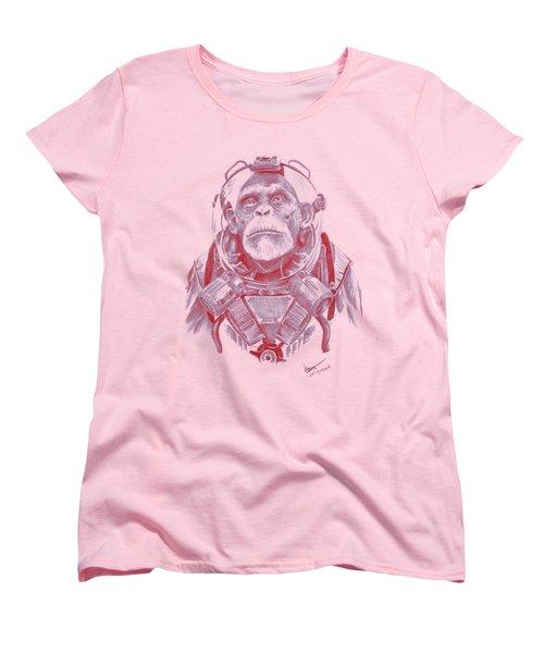 Space Chimp Women's T-Shirt (Standard Cut)