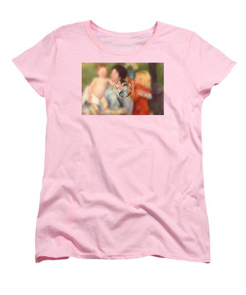 Sphere II Cassatt Women's T-Shirt (Standard Cut) by David Bridburg