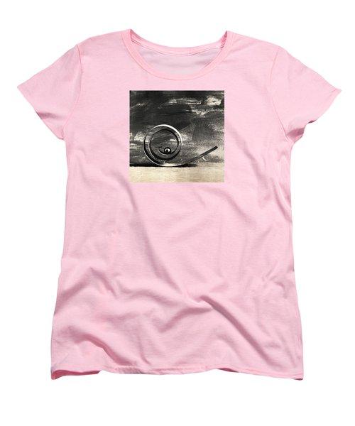 Spiral And Ball Women's T-Shirt (Standard Cut) by Andrey  Godyaykin