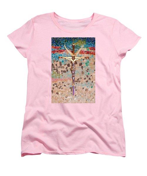 Spiritual Beauty Women's T-Shirt (Standard Cut) by Colleen Coccia