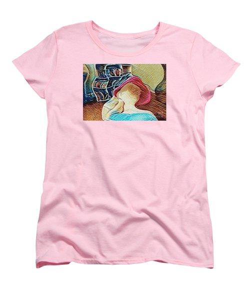 Women's T-Shirt (Standard Cut) featuring the photograph Spring Bonnet by Kathie Chicoine