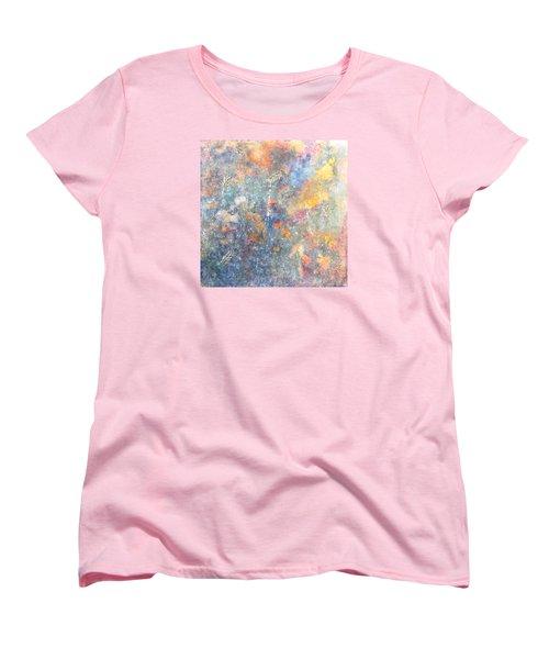 Spring Creation Women's T-Shirt (Standard Cut) by Theresa Marie Johnson