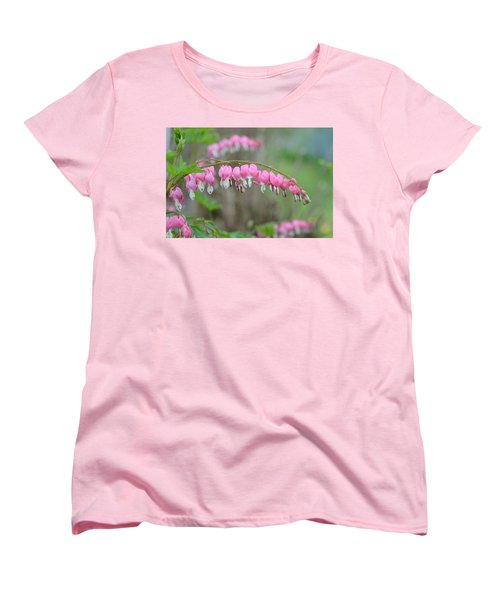 Spring Hearts Women's T-Shirt (Standard Cut) by Janet Rockburn