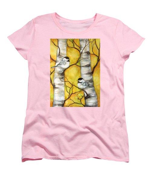 Spring Women's T-Shirt (Standard Cut) by Inese Poga