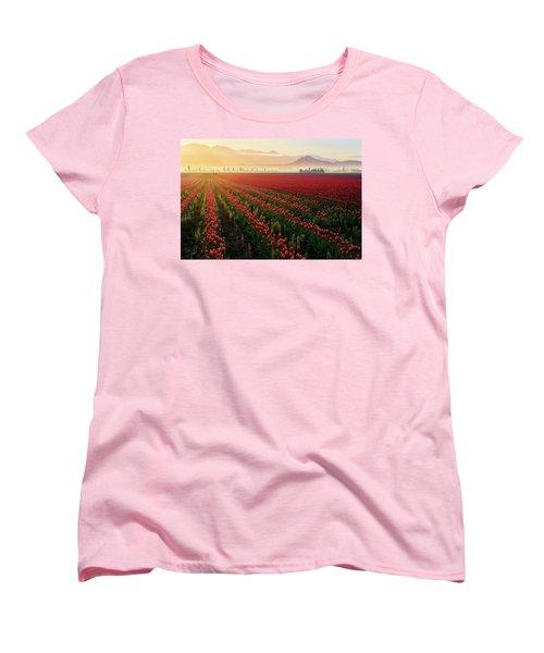 Spring Palette Women's T-Shirt (Standard Cut) by Ryan Manuel