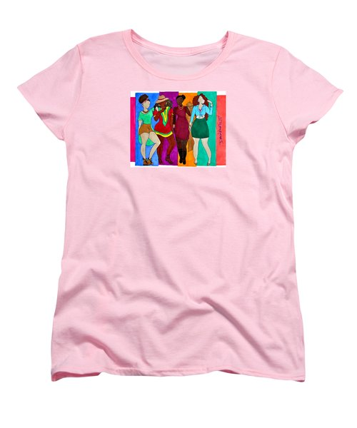 Squad Women's T-Shirt (Standard Cut) by Diamin Nicole