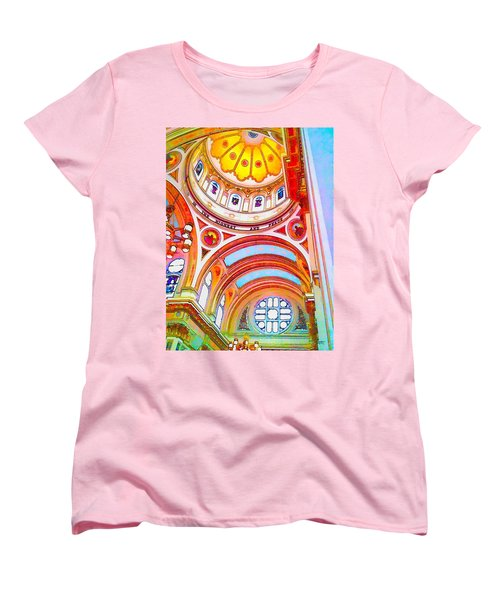 St. Mary Of The Angels 1 Women's T-Shirt (Standard Cut) by Dave Luebbert