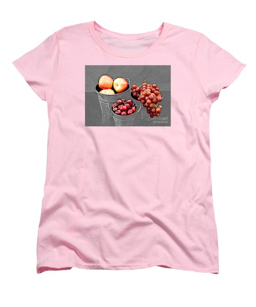 Women's T-Shirt (Standard Cut) featuring the photograph Standing Out As Fruit by Sherry Hallemeier