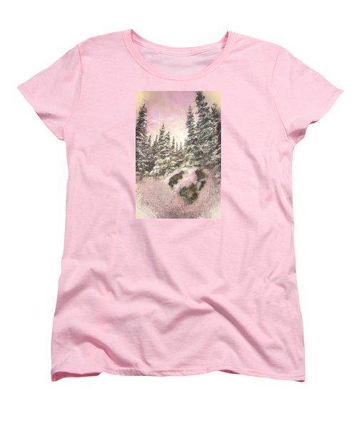 Standing Tall Women's T-Shirt (Standard Cut) by Annette Berglund