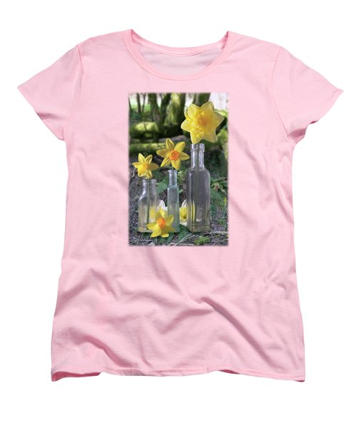 Still Life In The Woods Women's T-Shirt (Standard Cut) by Jon Delorme
