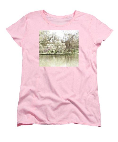 St. James Park London Women's T-Shirt (Standard Cut) by Judi Saunders