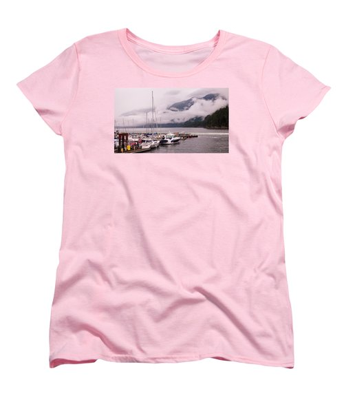 Stratus Clouds Over Horseshoe Bay Women's T-Shirt (Standard Cut)