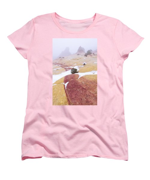 Women's T-Shirt (Standard Cut) featuring the photograph Stripe by Chad Dutson