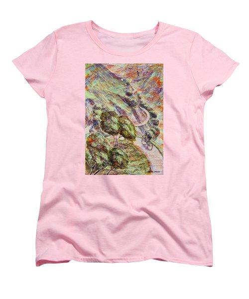 Striving To Sotres 1 Women's T-Shirt (Standard Cut) by Mark Jones