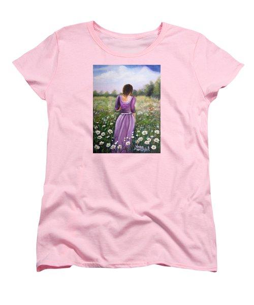 Summer Afternoon Women's T-Shirt (Standard Cut) by Vesna Martinjak