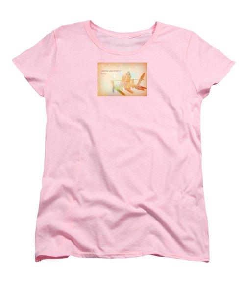 Women's T-Shirt (Standard Cut) featuring the photograph Summertime by Robin Regan