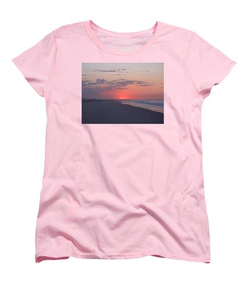 Women's T-Shirt (Standard Cut) featuring the photograph Sun Pop by  Newwwman