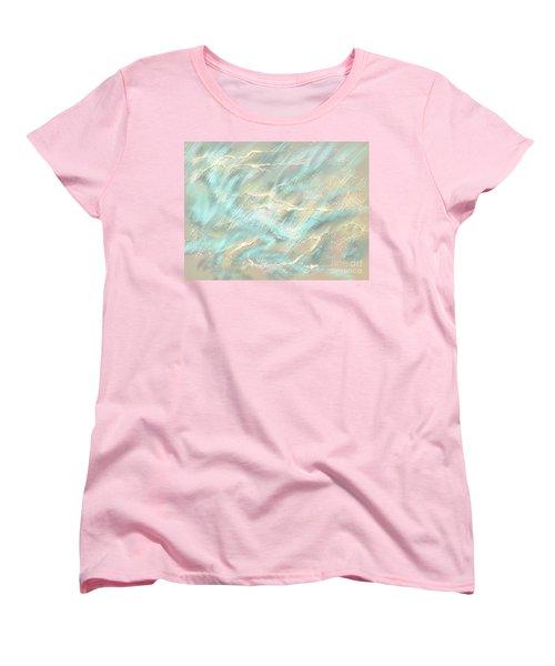 Sunlight On Water Women's T-Shirt (Standard Cut) by Amyla Silverflame