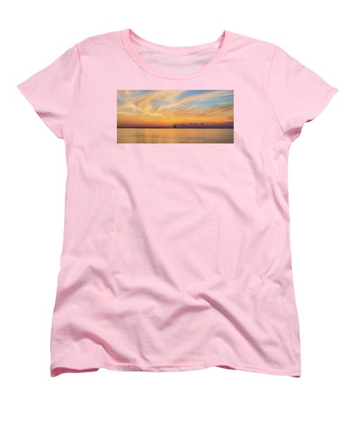 Women's T-Shirt (Standard Cut) featuring the photograph Sunrise And Splendor by Bill Pevlor