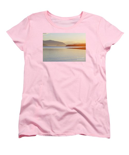 Sunset In The Mist Women's T-Shirt (Standard Cut) by Victor K