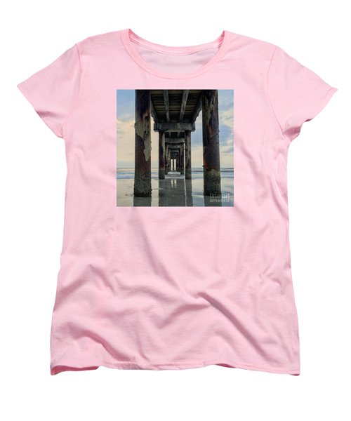 Surreal Sunday Sunrise Women's T-Shirt (Standard Cut) by LeeAnn Kendall