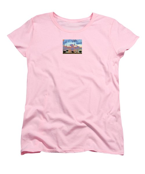 Surreal Sunset Women's T-Shirt (Standard Cut) by Michele Penner
