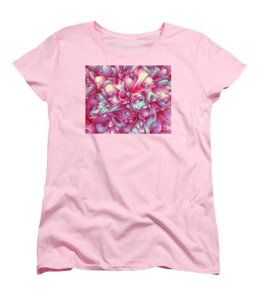 Sweet Flowers 2 Women's T-Shirt (Standard Cut) by Moustafa Al Hatter