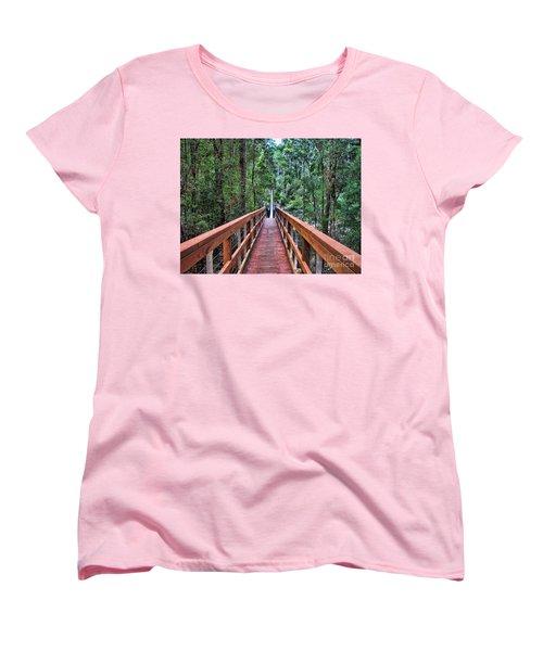 Swing Bridge Women's T-Shirt (Standard Cut)