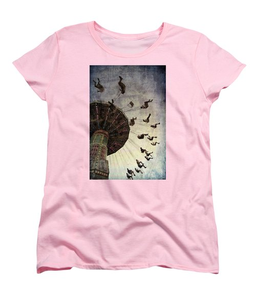 Women's T-Shirt (Standard Cut) featuring the photograph Swirling.... by Russell Styles