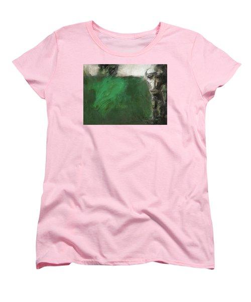 Symbol Mask Painting - 03 Women's T-Shirt (Standard Cut) by Behzad Sohrabi