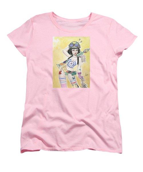 Tank Girl Women's T-Shirt (Standard Cut) by Jimmy Adams