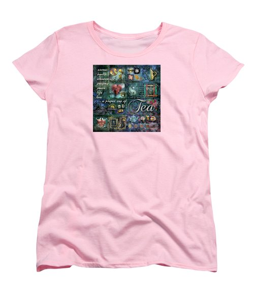 Tea Women's T-Shirt (Standard Cut) by Evie Cook