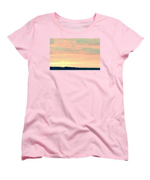 Women's T-Shirt (Standard Cut) featuring the photograph Texas On The Horizon by John Glass