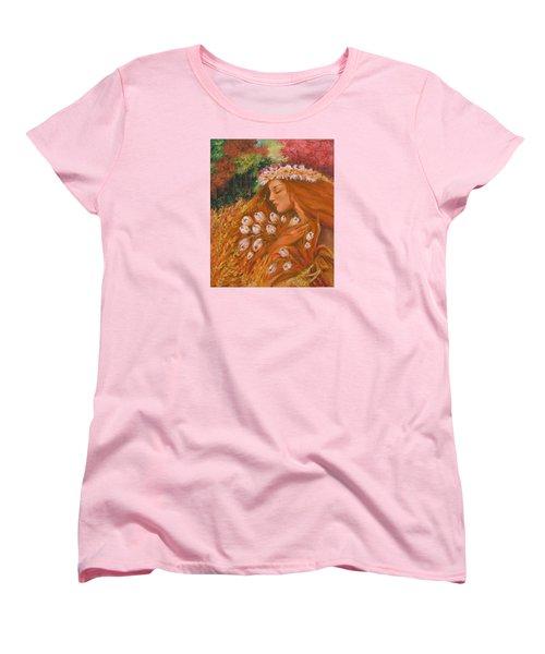 Autumn Women's T-Shirt (Standard Cut) by Rita Fetisov
