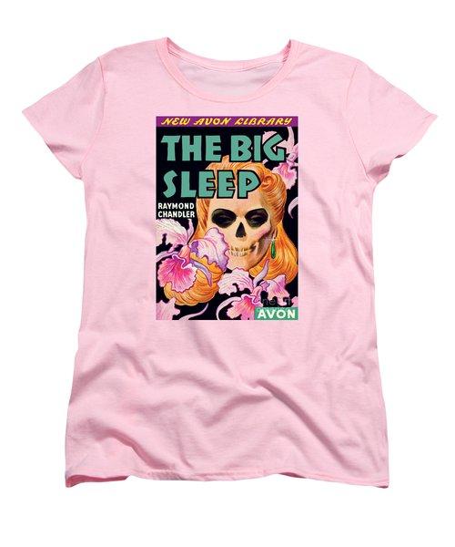 The Big Sleep Women's T-Shirt (Standard Cut) by Paul Stahr