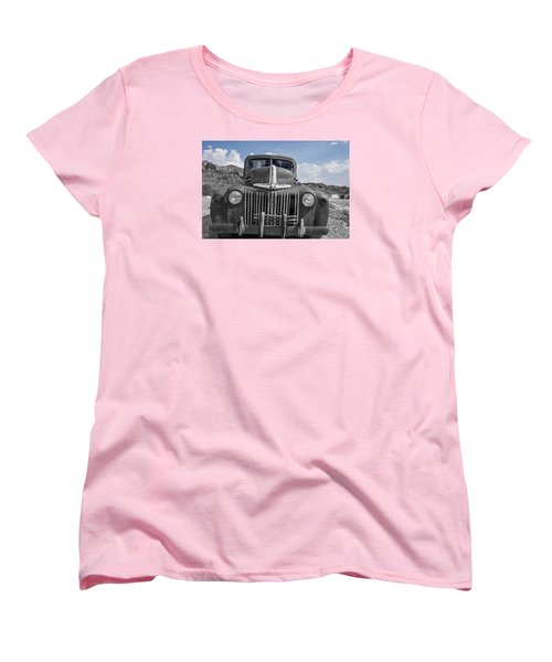 Women's T-Shirt (Standard Cut) featuring the photograph The Boss by Annette Berglund