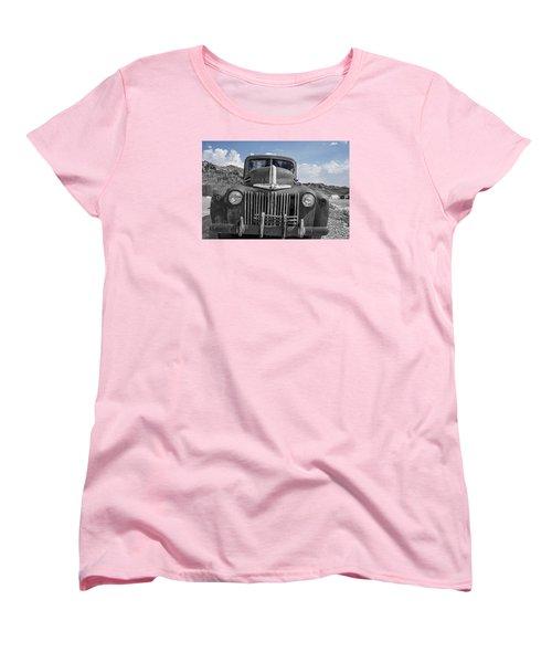 The Boss Women's T-Shirt (Standard Cut) by Annette Berglund