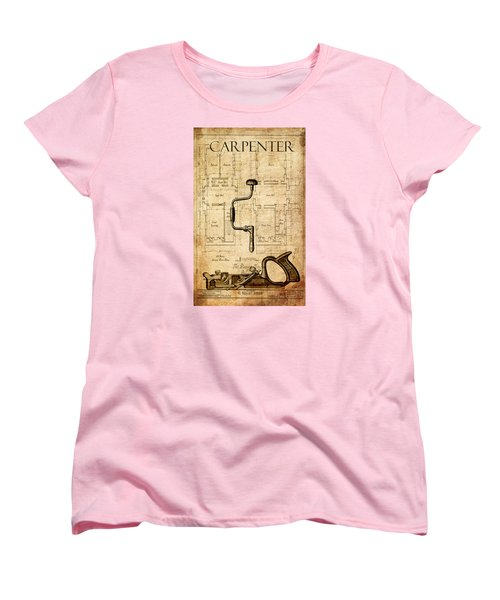 The Carpenter Women's T-Shirt (Standard Cut) by Greg Sharpe