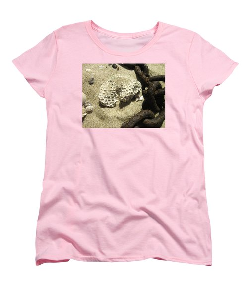 The Chain And The Fossil Women's T-Shirt (Standard Cut) by Trish Tritz