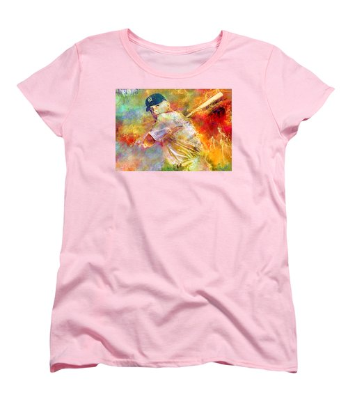 The Commerce Comet Women's T-Shirt (Standard Cut) by Mal Bray