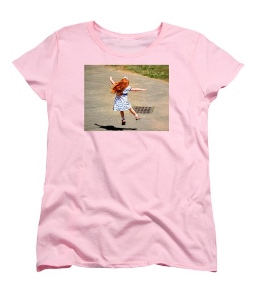 A Little Expression Women's T-Shirt (Standard Cut) by Gary Smith